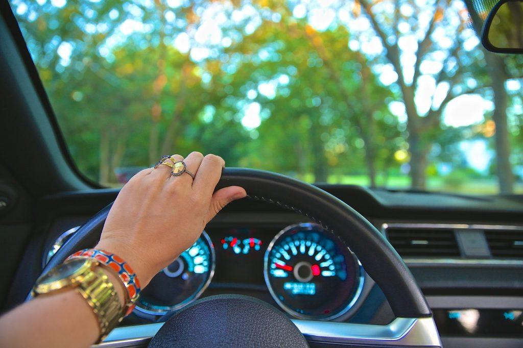 נסיעה ברכב